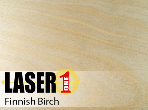 "Finnish Birch Plywood -  1/64"" (.5mm) Single Sheets 12"" x24"""